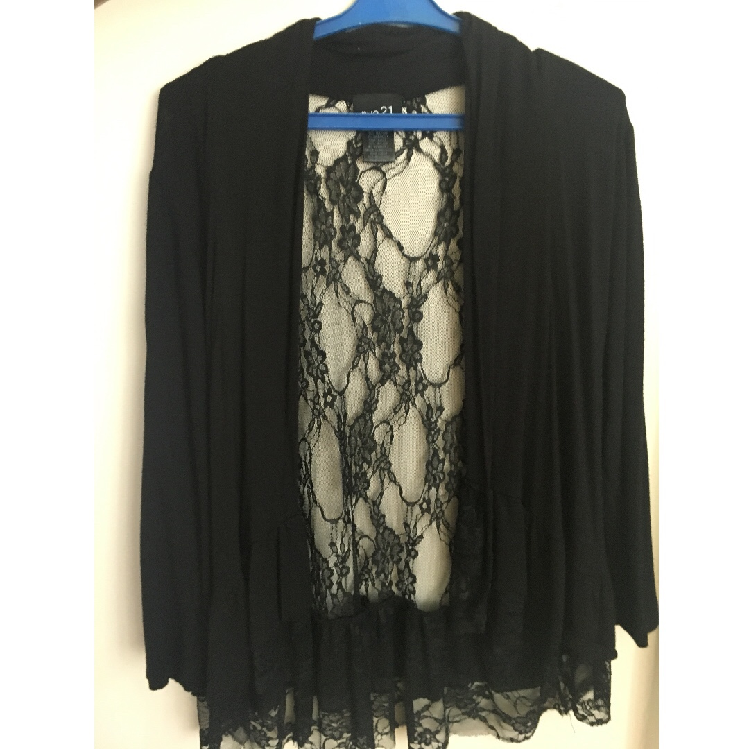 Rue21 laced back cardigan cover