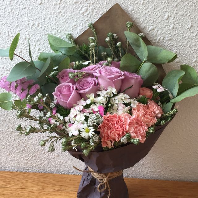 SPECIAL PROMO: Rustic Flower Bouquet, Gardening on Carousell