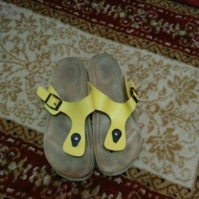 Sandal Vnc Yellow
