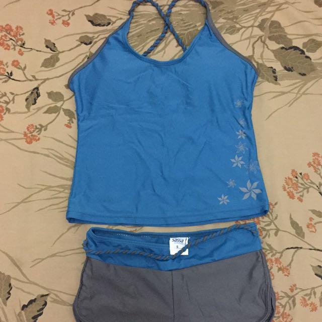 Sassa 2-piece Halter Swimsuit (small)