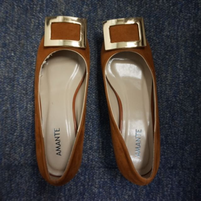 Sepatu Coklat Amante