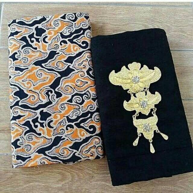 Set Kain Batik Printing Dan Kain Embos