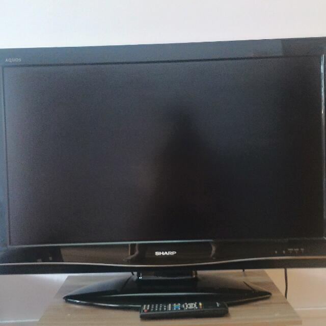 Sharp Aquos 37lcd Tv Electronics Tvs Entertainment Systems On