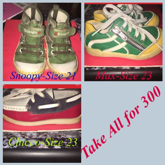 Shoes Take all for 200