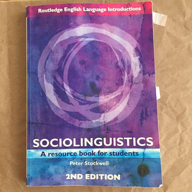 Sociolinguistics/Stockwell