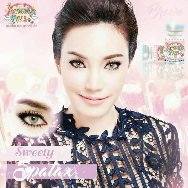 Softlens Sweety Plus Sweety Spatax Brown