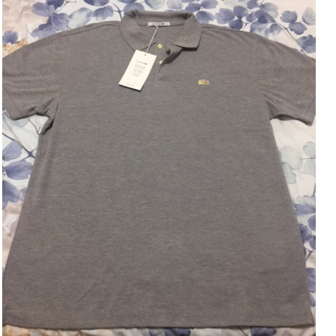 2791da63 Special Edition Men's Lacoste Polo - 100% Authentic, Men's Fashion, Clothes  on Carousell