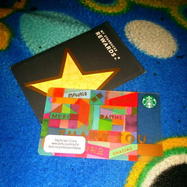 Repriced Starbucks Card