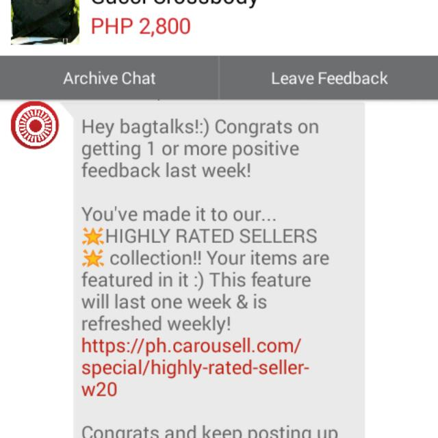 Thanks Carousell!!!