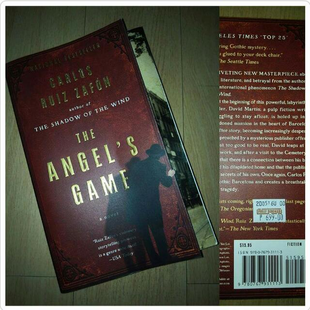 The Angel's Game by Carlos Ruis Zafon