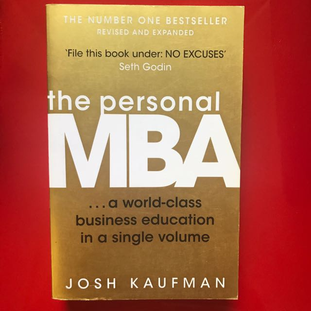 The Personal MBA, By Josh Kaufman, Books & Stationery