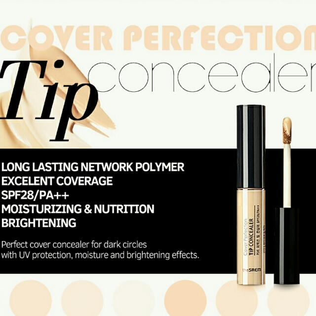 The Saem Cover Perfection Tip Concealer (Natural Beige)