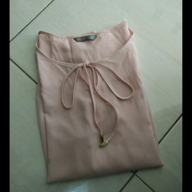 [REPRICE] Top Blouse Pink