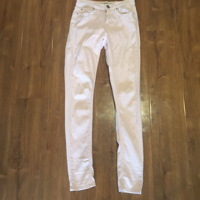 TopShop Light Pink Jeans