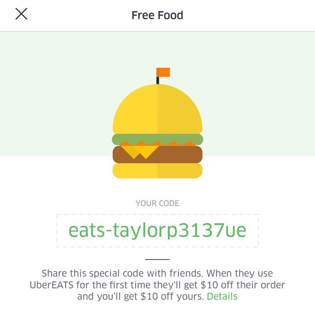 UBER EATS $10 OFF!!!!