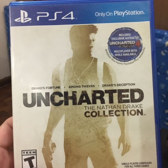 Uncharted The collection Ps4