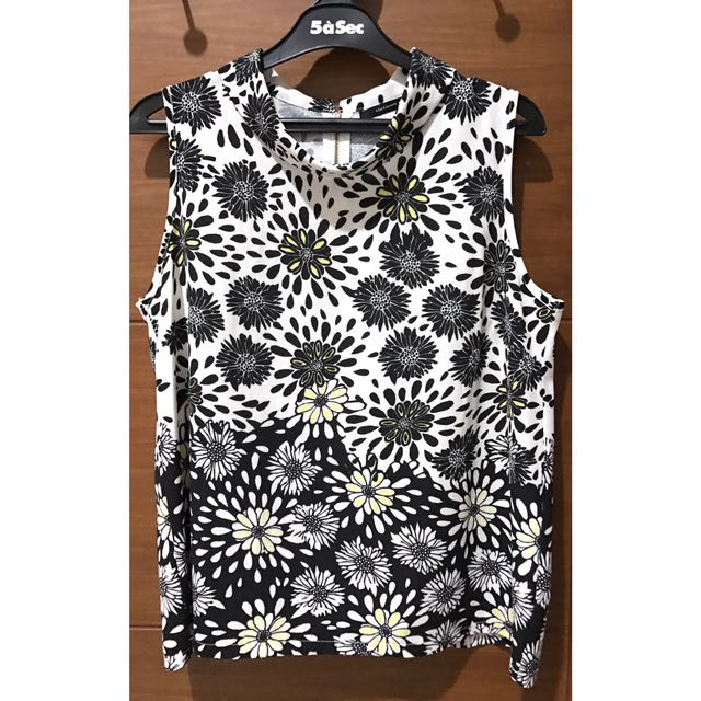 UPTOWN GIRL Flower Top