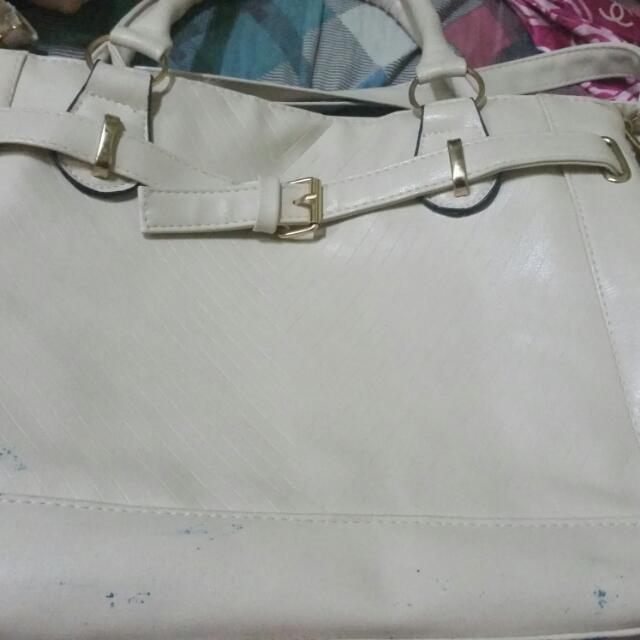 REPRICED WHITE JAPAN UNBRANDED BAG