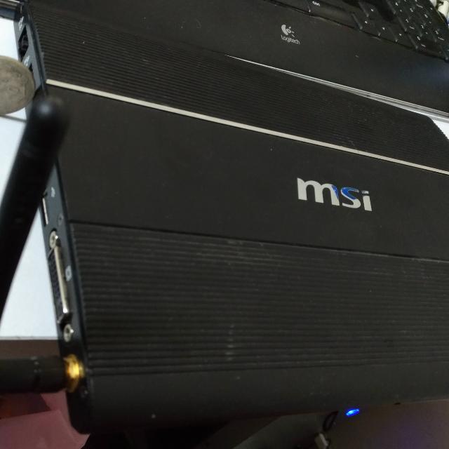 微星薄型電腦可連接wi-fi(非筆電)
