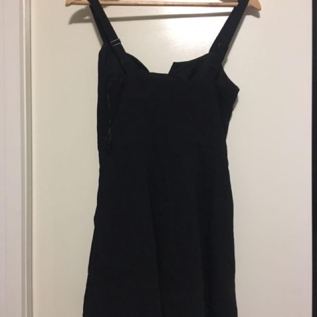 Wish Black Dress Size XS Or Size 8