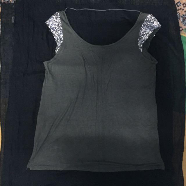 Zara TRF blink tshirt