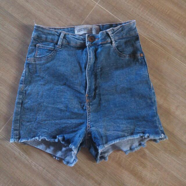 Zara highwaist Shorts