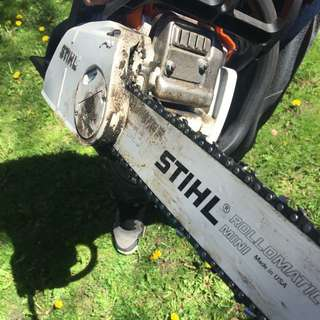 STIHL Chain Saw Used ONCE