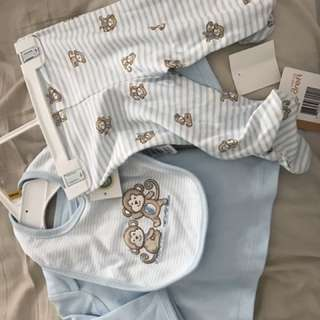 Baby Set With Bib