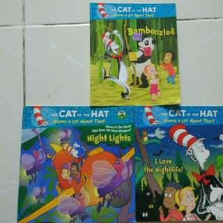 Dr Seuss Cat In The Hat Series (bundling 3 Books)