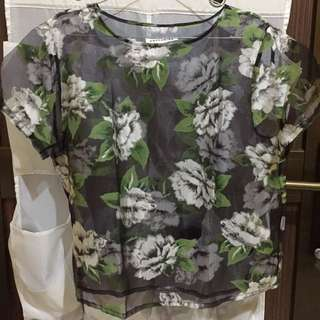 COTTONINK Floral Shirt