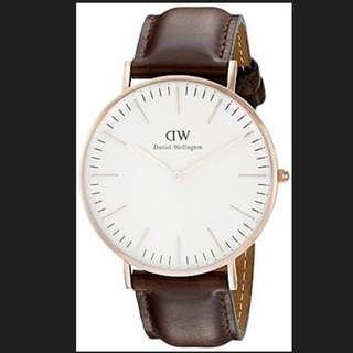 Daniel Wellington 0109DW Bristol Wrist Watch