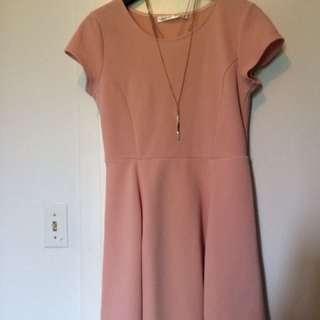 Bluenotes Pink Dress. Size M.