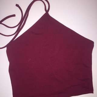Forever 21 Red Halter Top