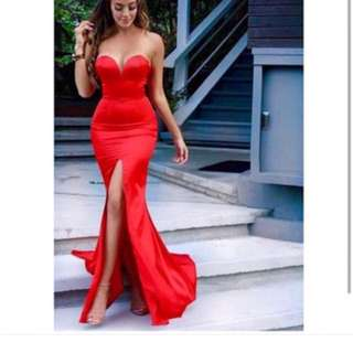 Red Milania Prom Dress