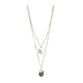 Locket & Rose necklace