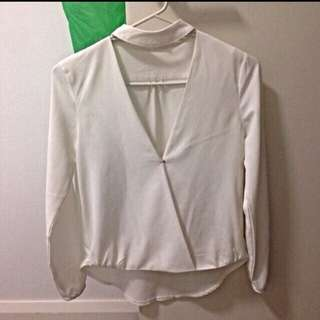 Boutique Sheer Top Size 6