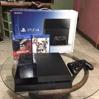 PS4 500GB Jetblack 1006A R3