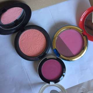 MAC Blushes (limited Edition)