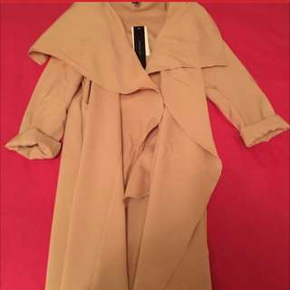 Beige Long Coat