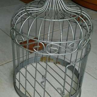 Decorative birdcage.