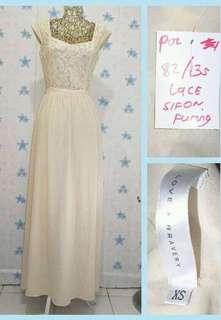 love & Bravery maxi lace dress