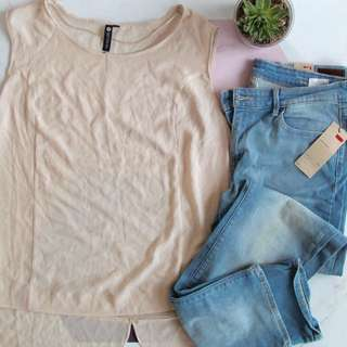 Levi's Jeans And Top