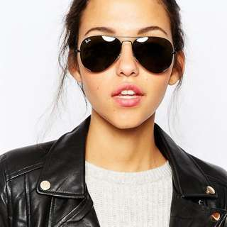 Ray Ban Aviators - Black Limited Edition