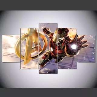 Marvel Avengers Iron Man Canvas Print Paintings Wall Art Wall Decor