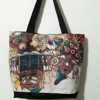 Authentic Freeway Tote Bag