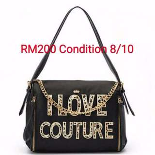Preloved Authentic Juicy Couture ''I Love Couture'' handbag