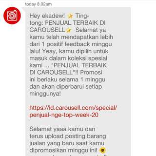 Thank You, Carousell! ❤