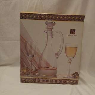 5 Piece Wine Glass Set