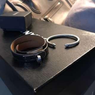 Hermes Kelly XS Bracelet And David Yurman