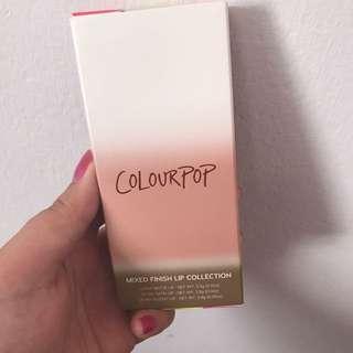 Colourpop lip collection